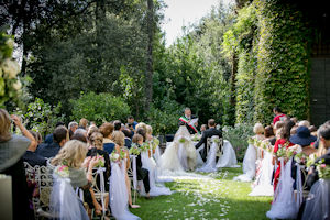wedding in Tor Crescenza